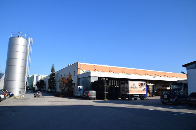 Karmeliten Brauereiの工場外観